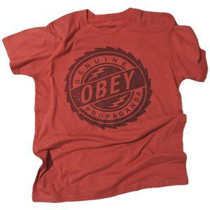 OBEY | L | Short Sleeve | Crew Neck | Graphic Tee